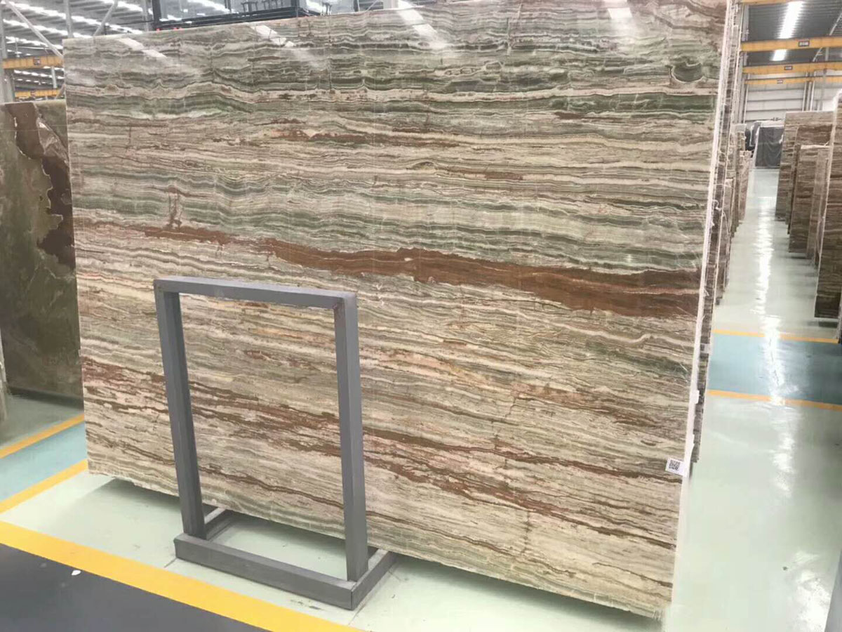 Bamboo Jade Natural Marble Slabs and Tiles