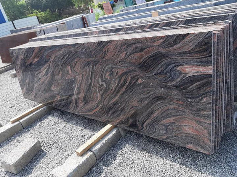 Bangalore Brown Granite Slabs Polished Granite Slabs