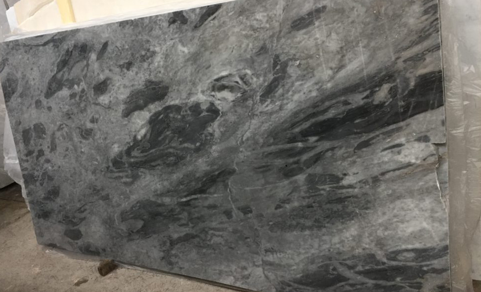 Bardiglio Nuvolato Grey Marble Slabs with Top Quality