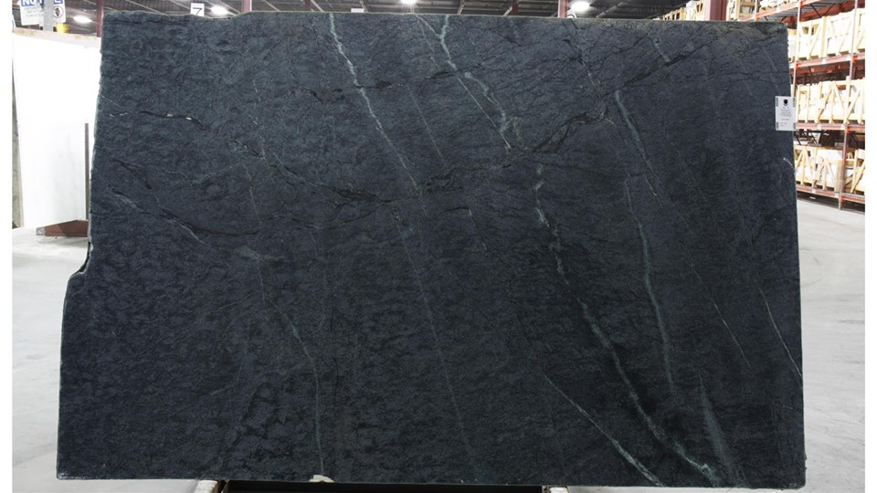 Barroca Black Soapstone Slabs from Brazil