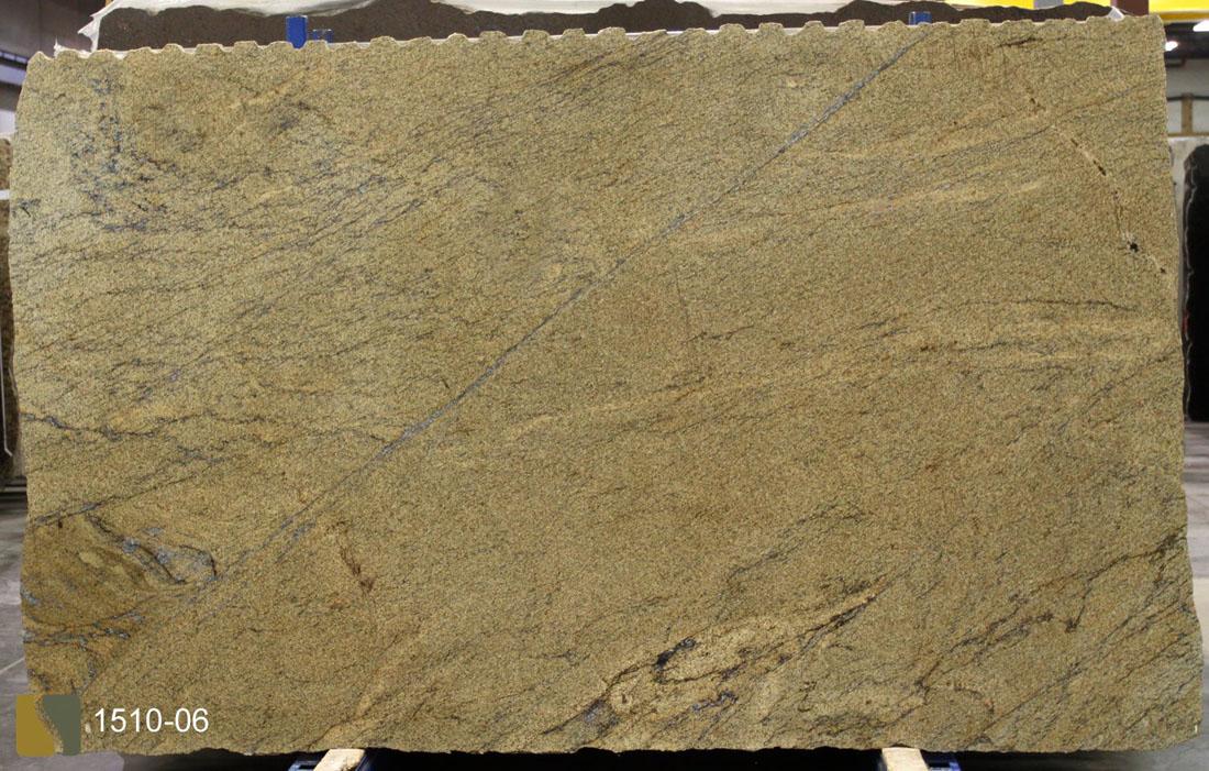 Beach Wave Yellow Granite Slabs Top Quality Granite Slabs