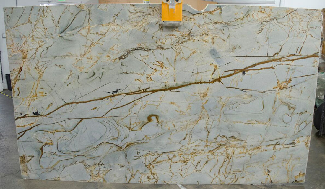 Beautiful Azure Quartzite Polished Slabs
