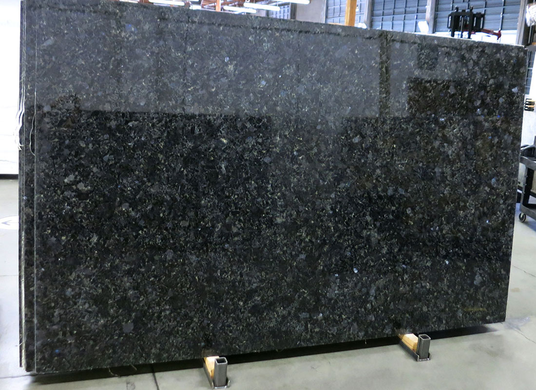 Beautiful Blue Volga Granite Slabs Blue Polished Granite Slabs