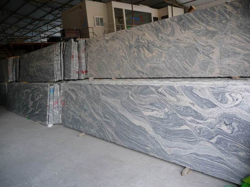 Beautiful China Juparana Granite Slabs