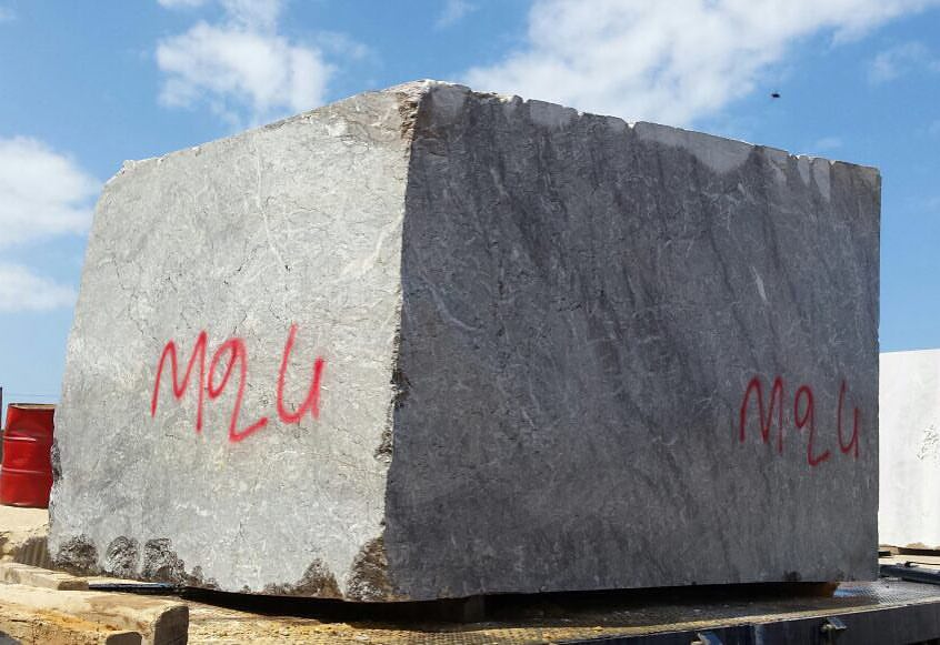 Beautiful Grey Lido Marble Blocks