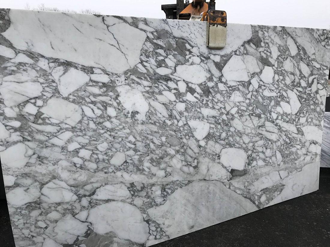 Beautiful Italian White Marble Slabs Calacatta Vagli Slabs