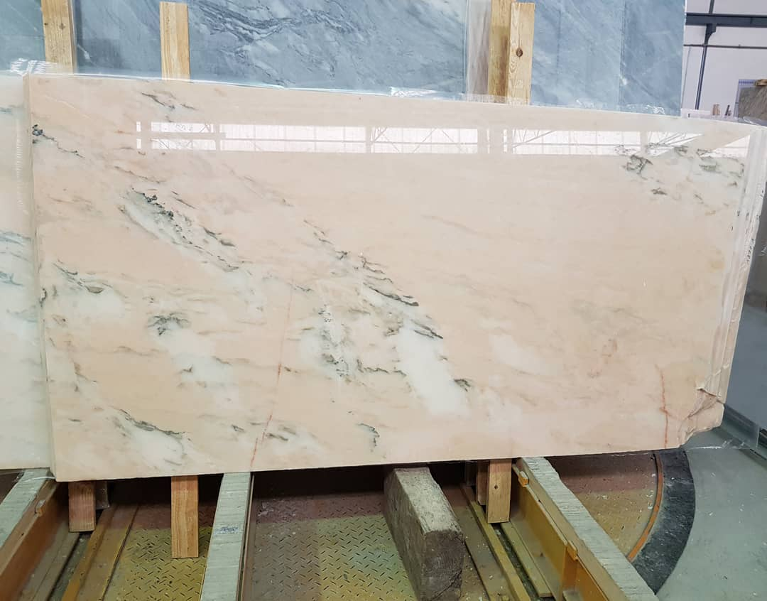 Beautiful Rosa Portugal Slabs Polished Pink Marble Slabs