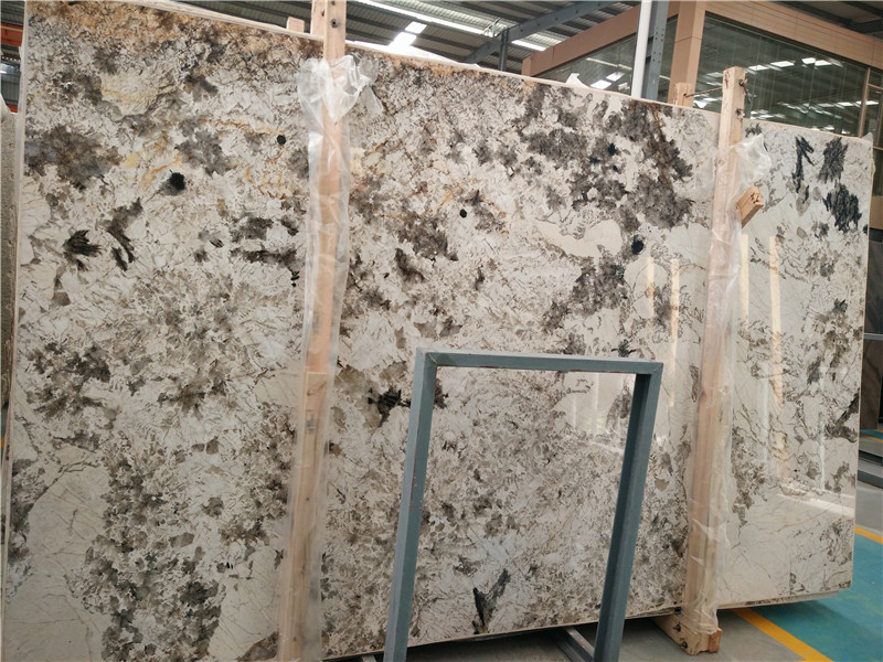 Beautiful Snow Mountain Fox Granite Big Slabs from China