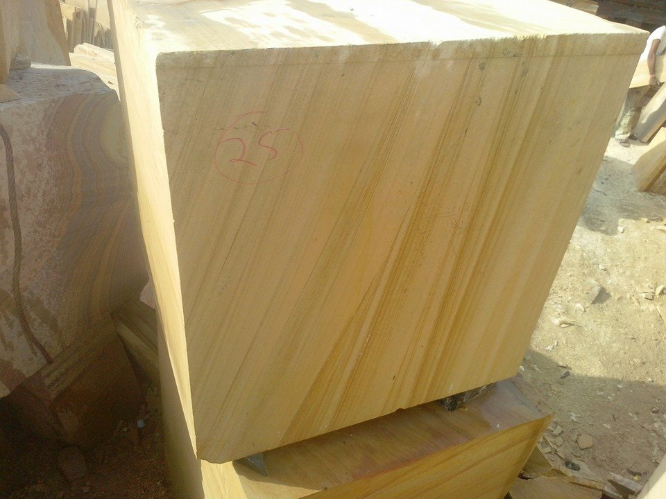 Beautiful Teakwood Sandstone Blocks