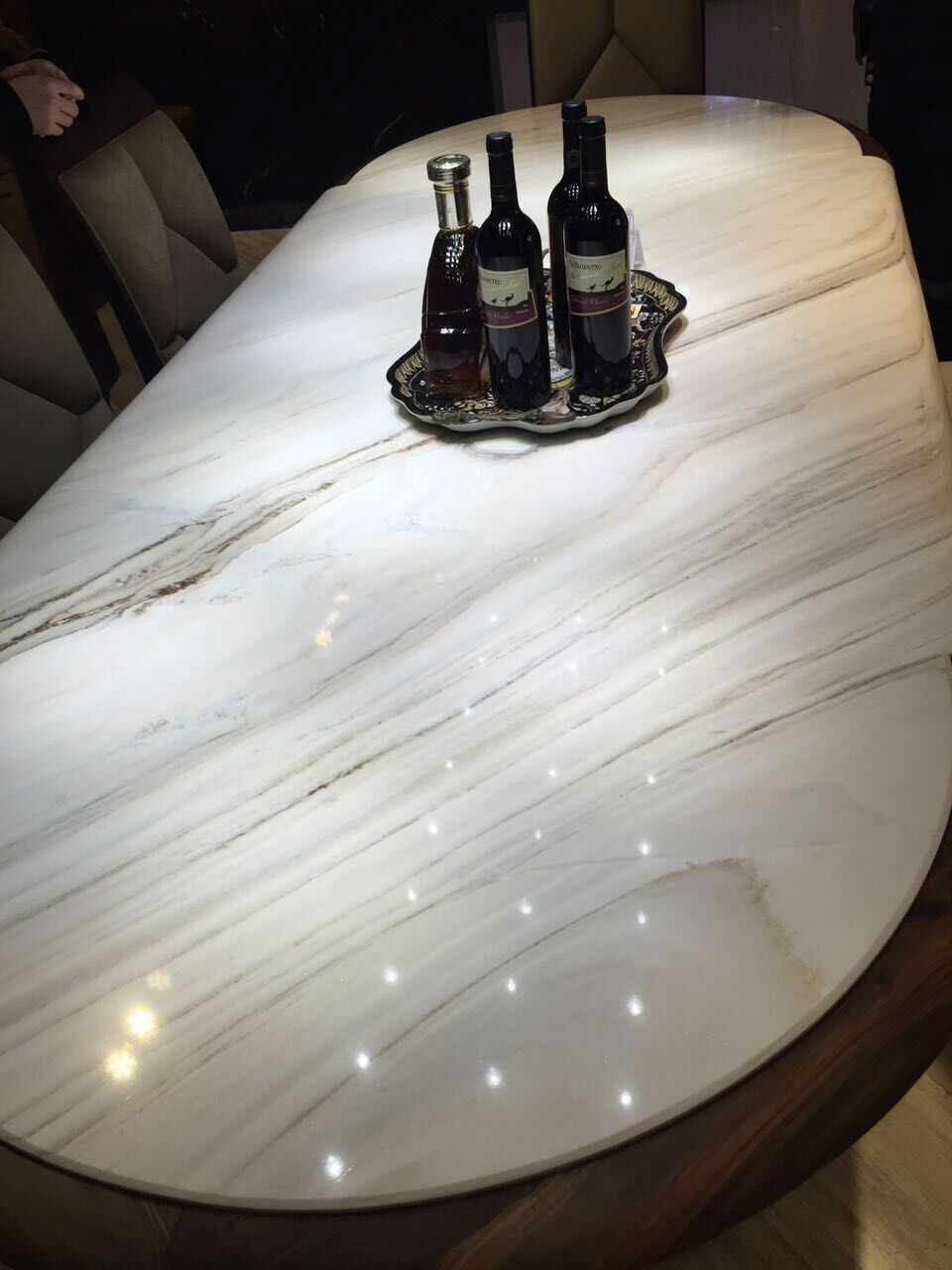 Beautiful White Marble Table Top