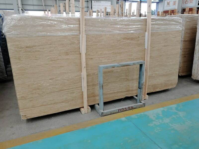 Beige Cream Travertine Slabs from Chinese Supplier