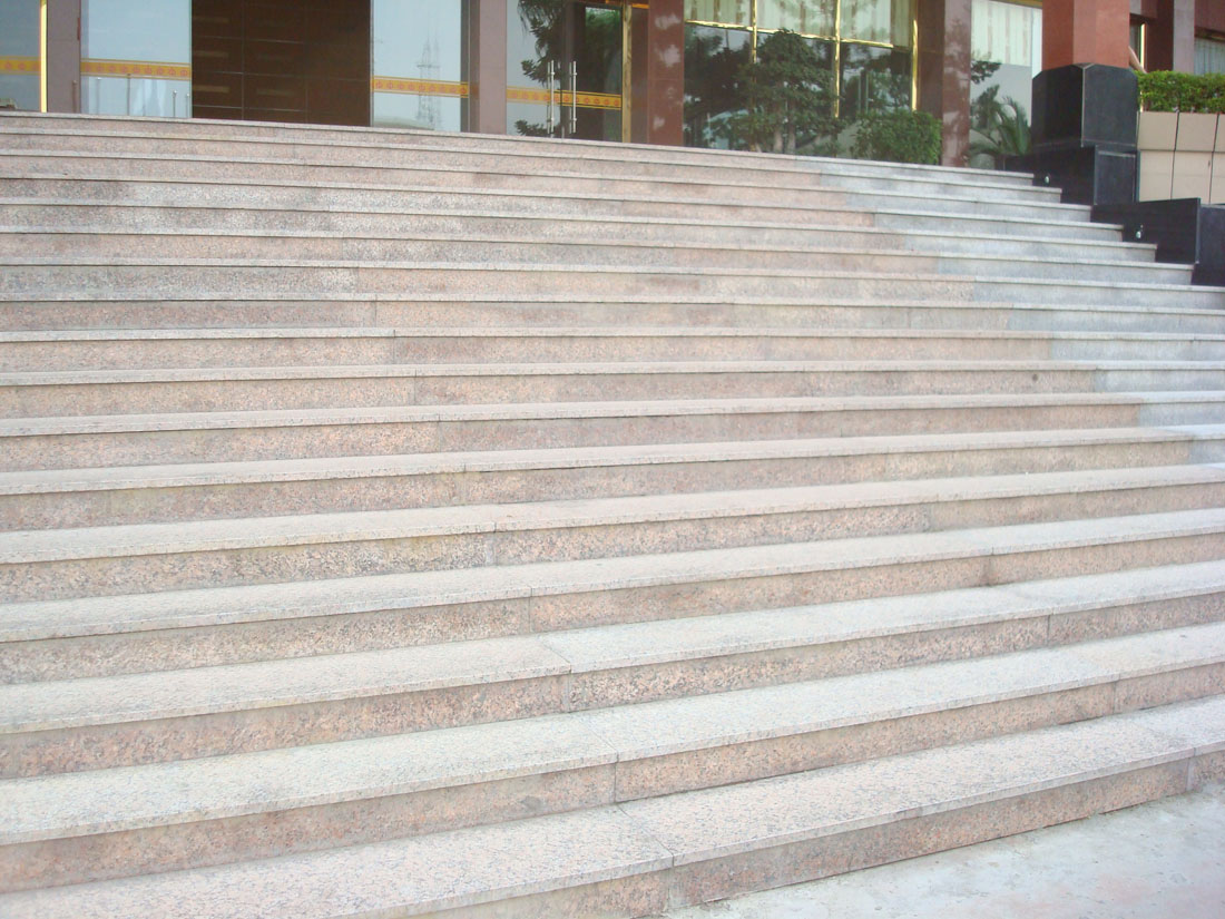 Beige Granite Stone Steps