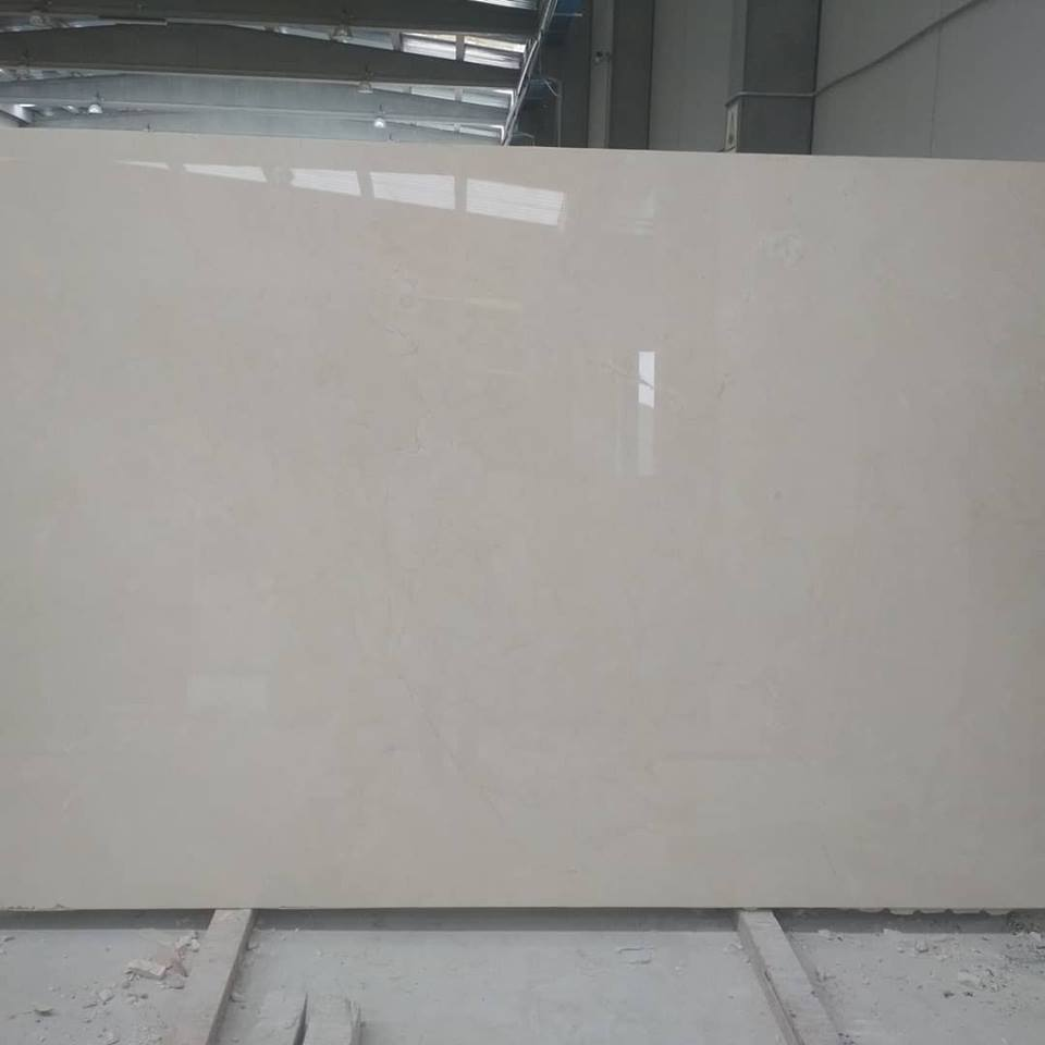 Beige Marble Slabs Polished Crema Marfil Slabs