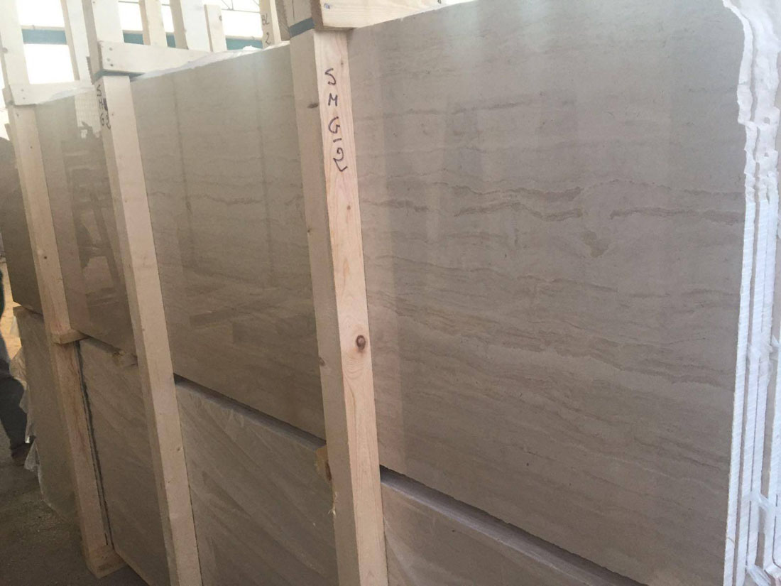 Beige Marble Slabs Serpeggiante Marble from Italy