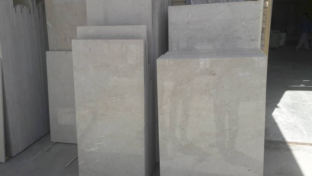 Beige Marble and Tile