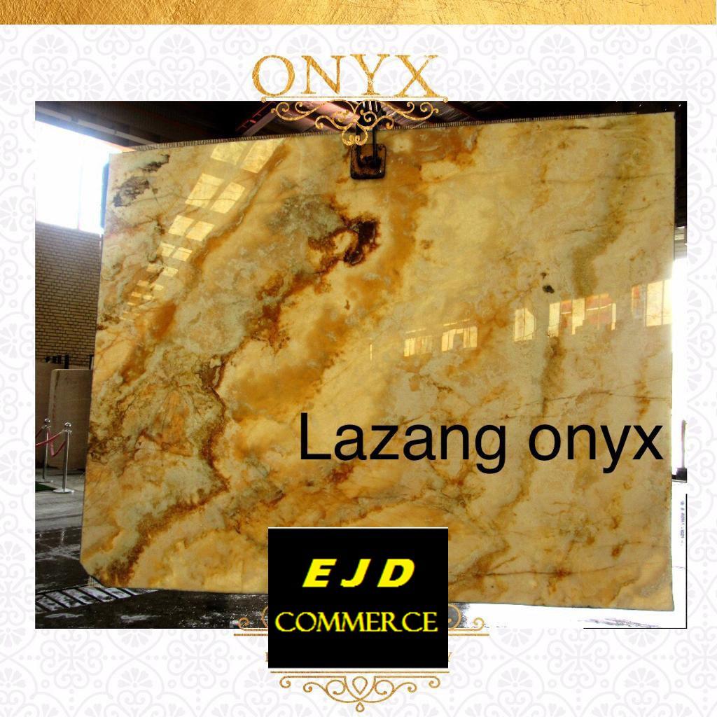 Beige Onyx Slabs from Iran