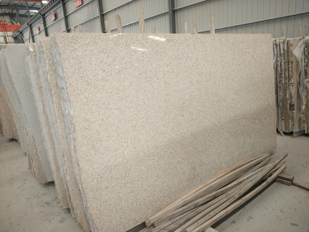 Beige Rusty Granite Slabs Polished Chinese Slabs