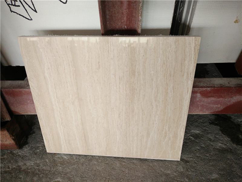 Beige Wood Grain Marble Tiles Polished Marble Tiles
