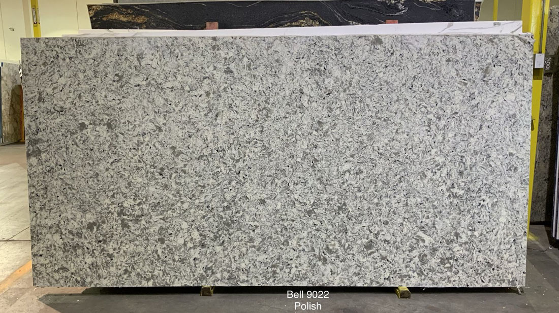 Bell Quartz Slabs Chinese Grey Polished Quartz Slabs