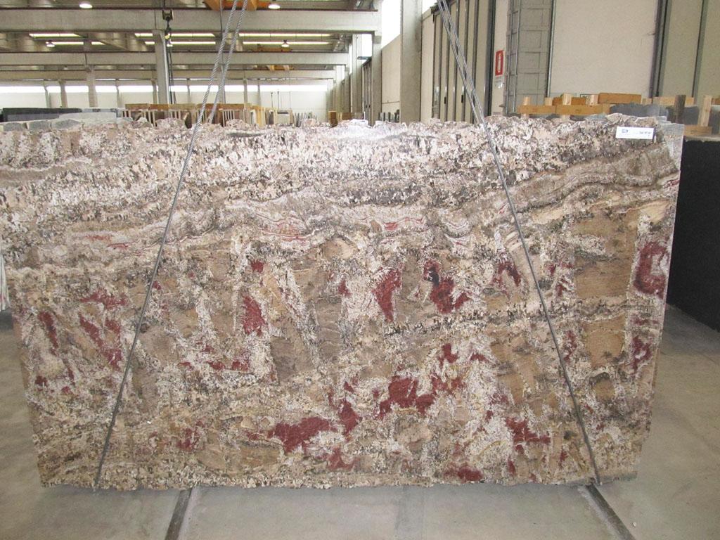 Bellini Natural Brown Granite Slabs