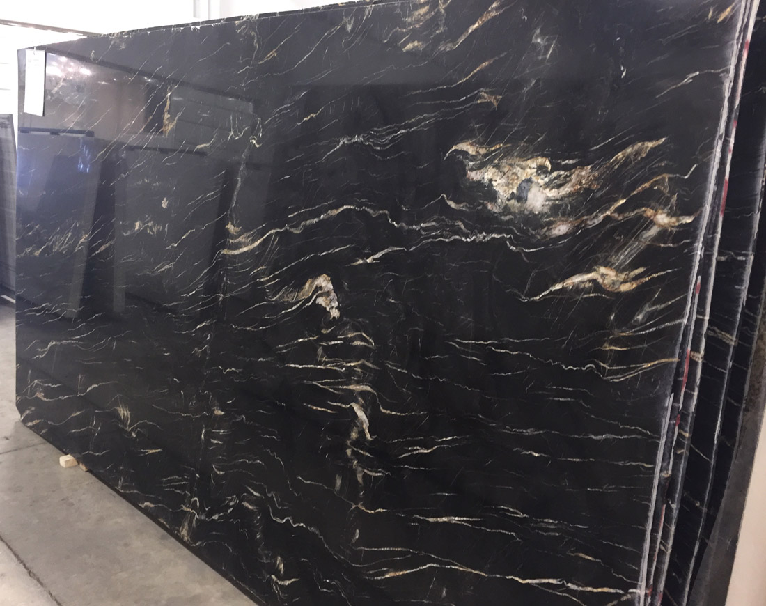 Belvedere Granite Slabs Black Polished Granite Stone Slabs
