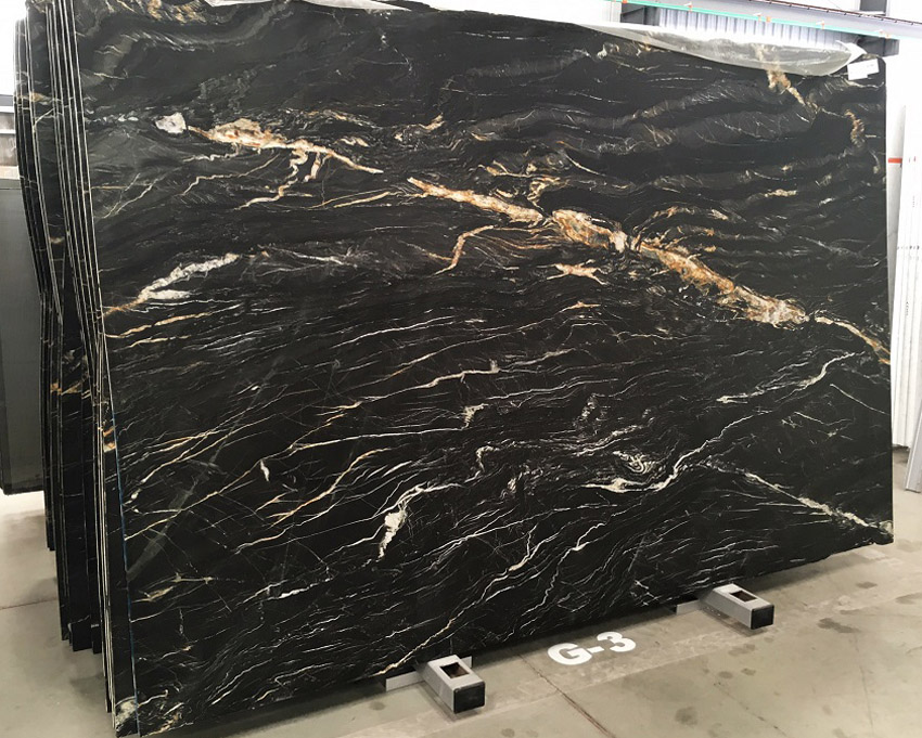 Belvedere Granite Slabs Polished Black Granite Stone Slabs