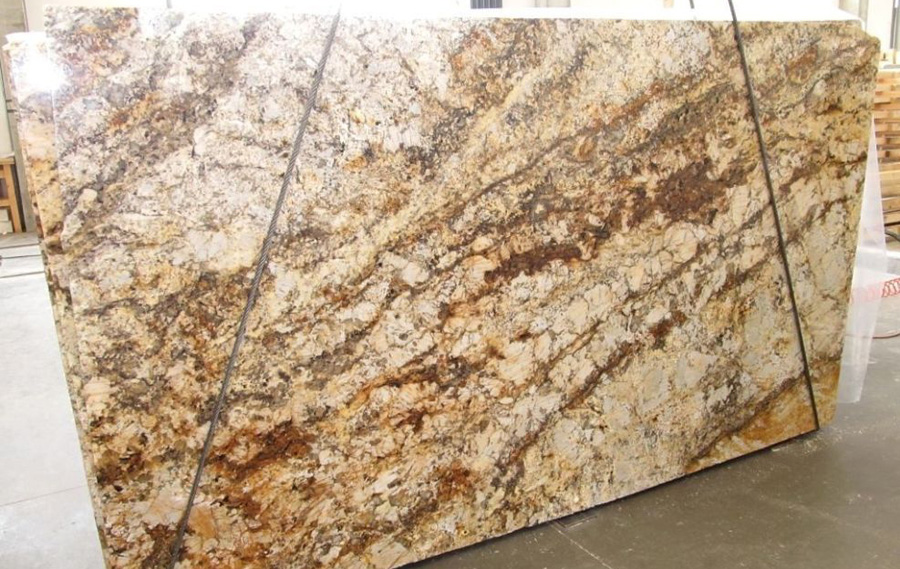 Betulaire Granite Slabs Brazil Yellow Granite Stone Slabs