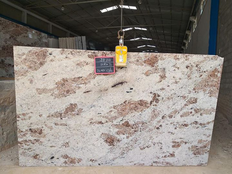 Bhama Ivory Granite Slabs from India