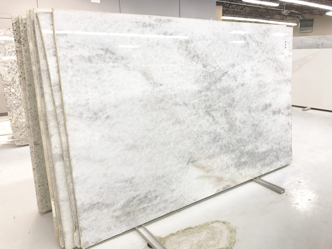 Bianca Calcite Slab Polished White Quartzite Slabs