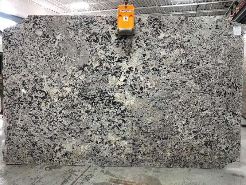 Bianco Antico 2cm Granite Stone Slabs for Kitchen Countertops
