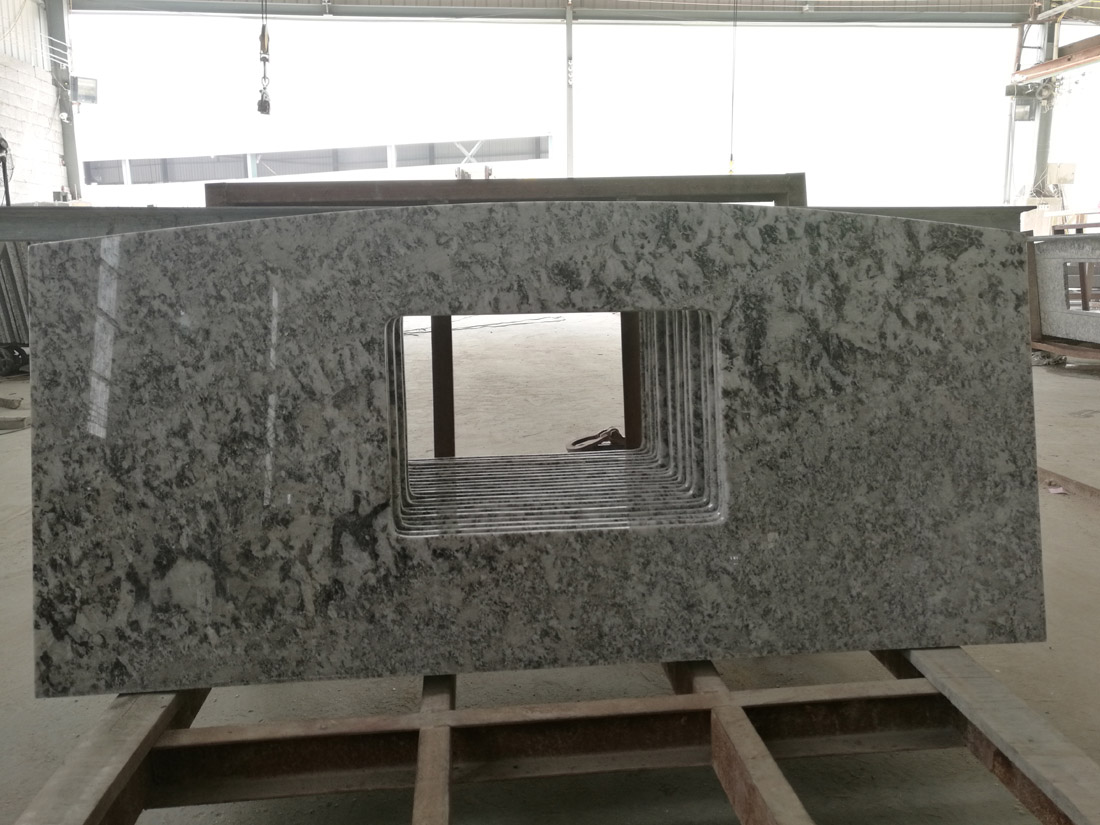 Bianco Antico Potiguar Aran White Vanity Tops Granite Kitchen Countertops