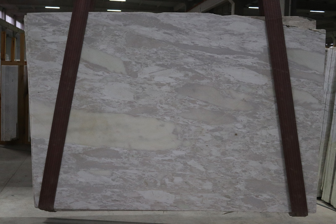 Bianco Brouille Marble Slabs White Turkish Marble Slabs for Walls