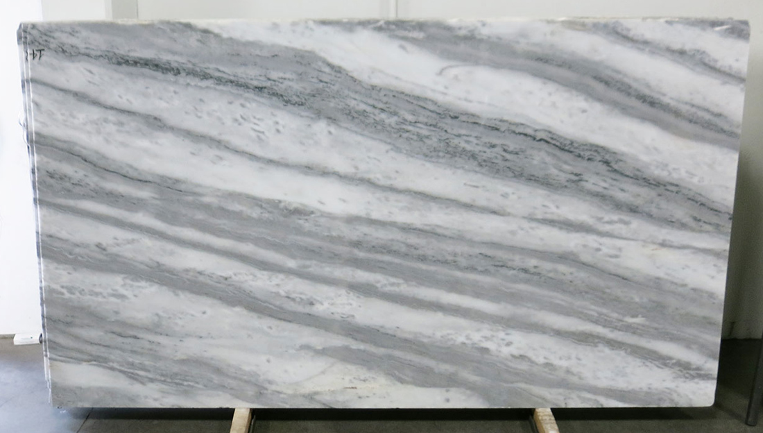 Bianco Caraibi Polished Marble Slabs With Top Quality