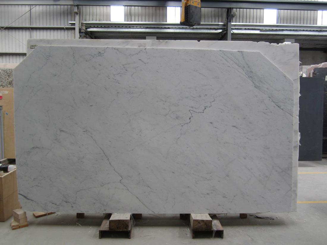 Bianco Carrara C Marble Honed Marble Slabs
