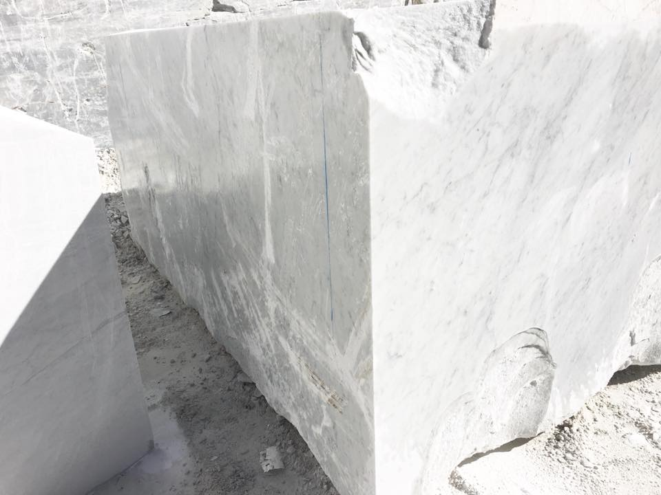 Bianco Carrara C White Marble Blocks