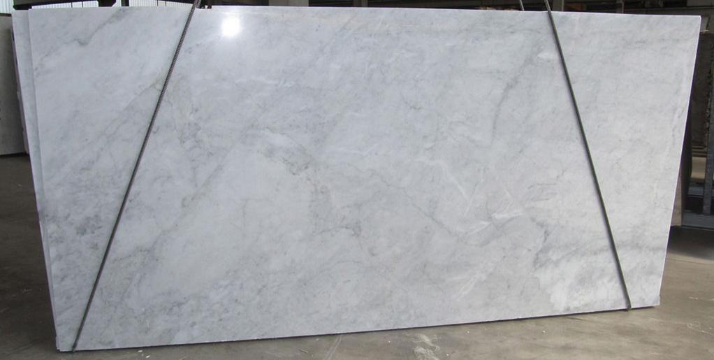 Bianco Carrara CD White Marble Polished Slabs