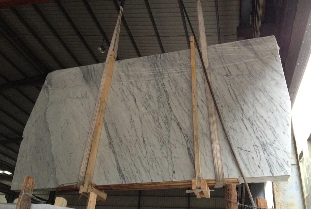 Bianco Carrara Marble White Polished Marble Slabs