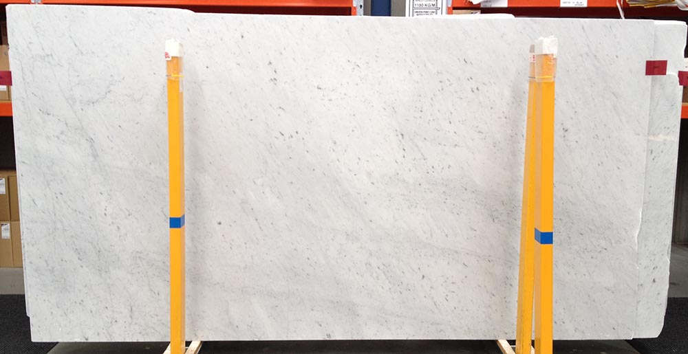 Bianco Carrara Slab White Polished Marble Stone Slabs