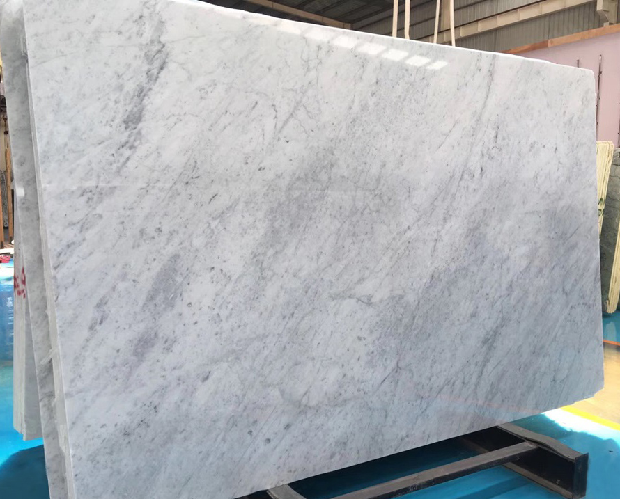 Bianco Carrara White Marble Stone Slabs Top Quality Italian White Marble Stone Slabs