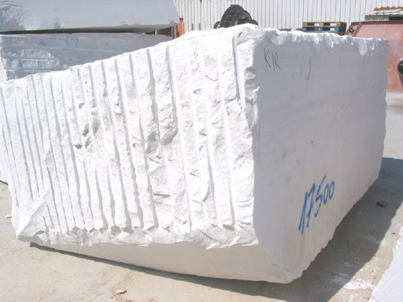 Bianco Civec Blocks Greek Natural Marble Blocks