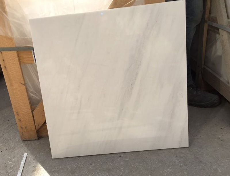 Bianco Civec Tiles Polished White Marble Tiles