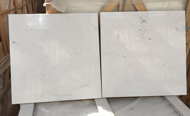 Bianco Civec Tiles White Polished Marble Flooring Tiles
