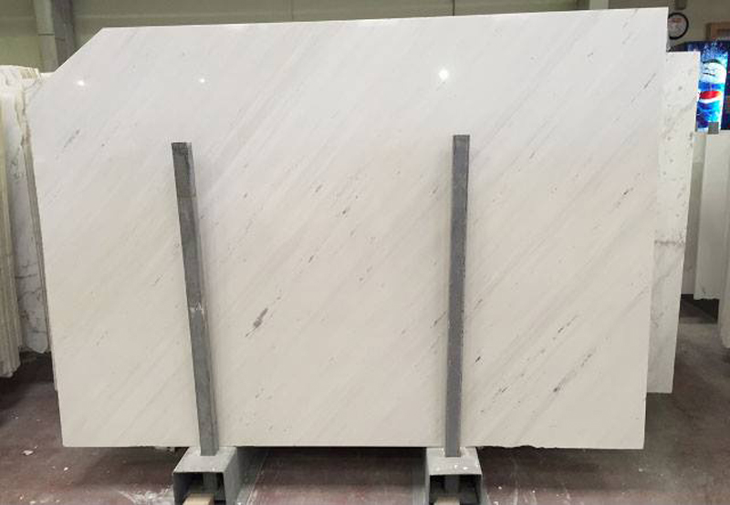 Bianco Civec White Polished Marble Slabs