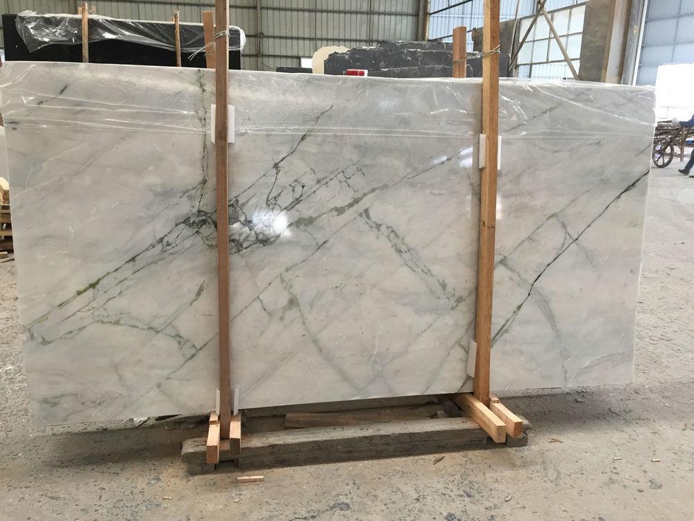 Bianco Damasco White Slabs Polished White Marble Slabs