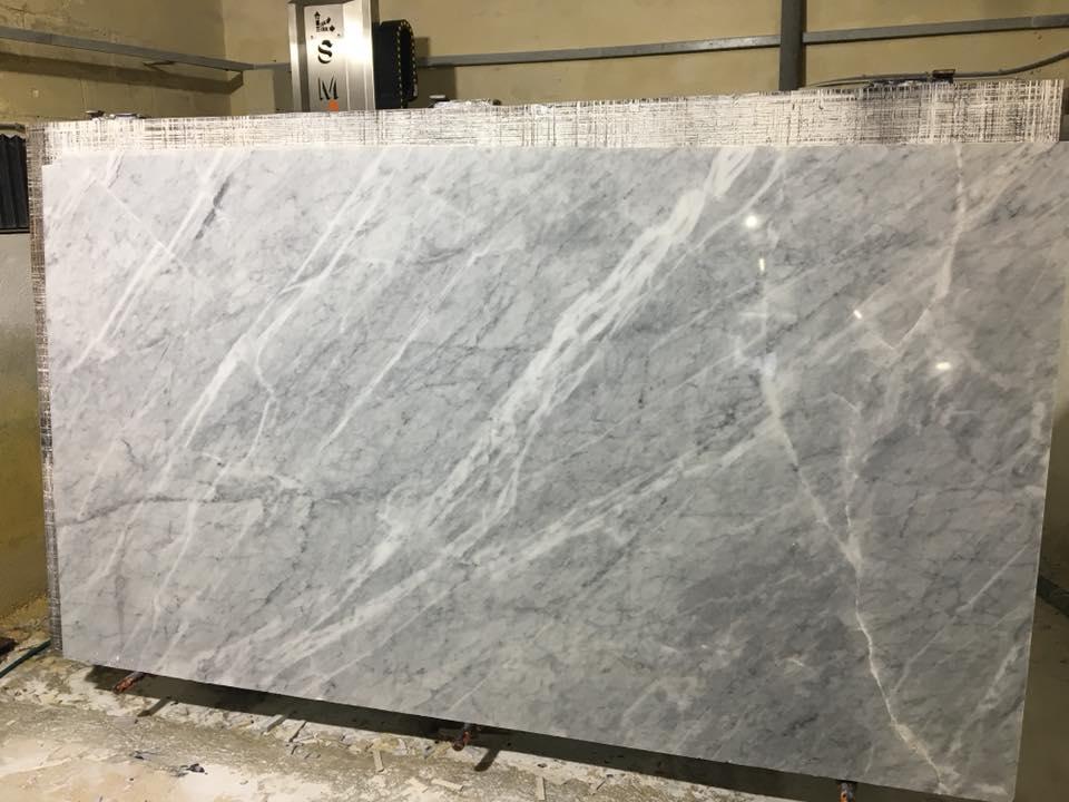 Bianco Di Carrara Marble Polished Marble Slabs