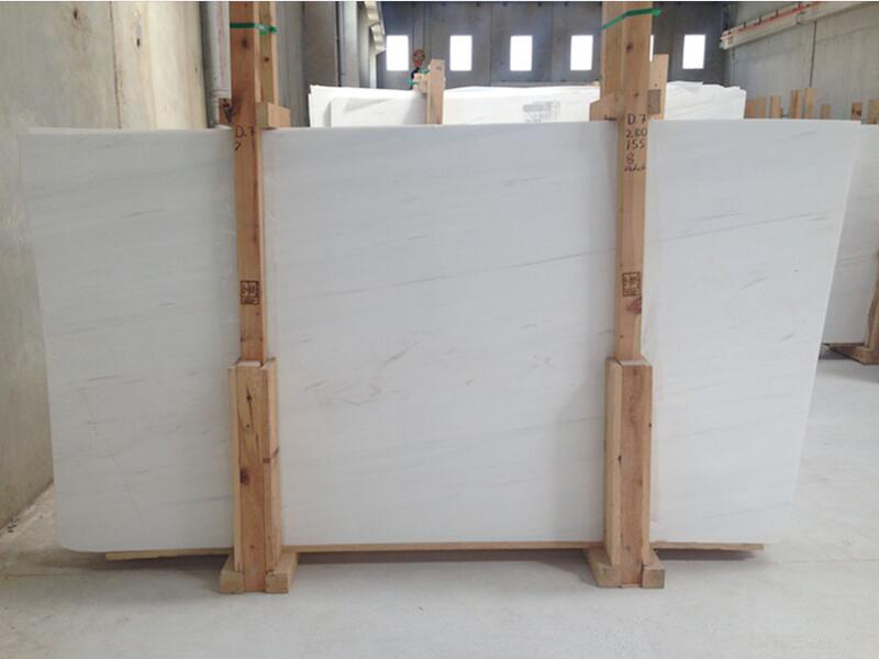 Bianco Dolomite White Polished Marble Slabs