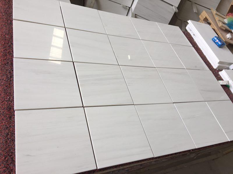 Dolomiti Marble Tiles Polished White Marble Tiles