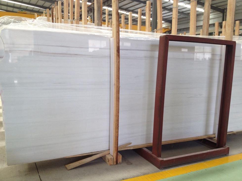 Bianco Dolomiti White Marble Polished Marble Slabs