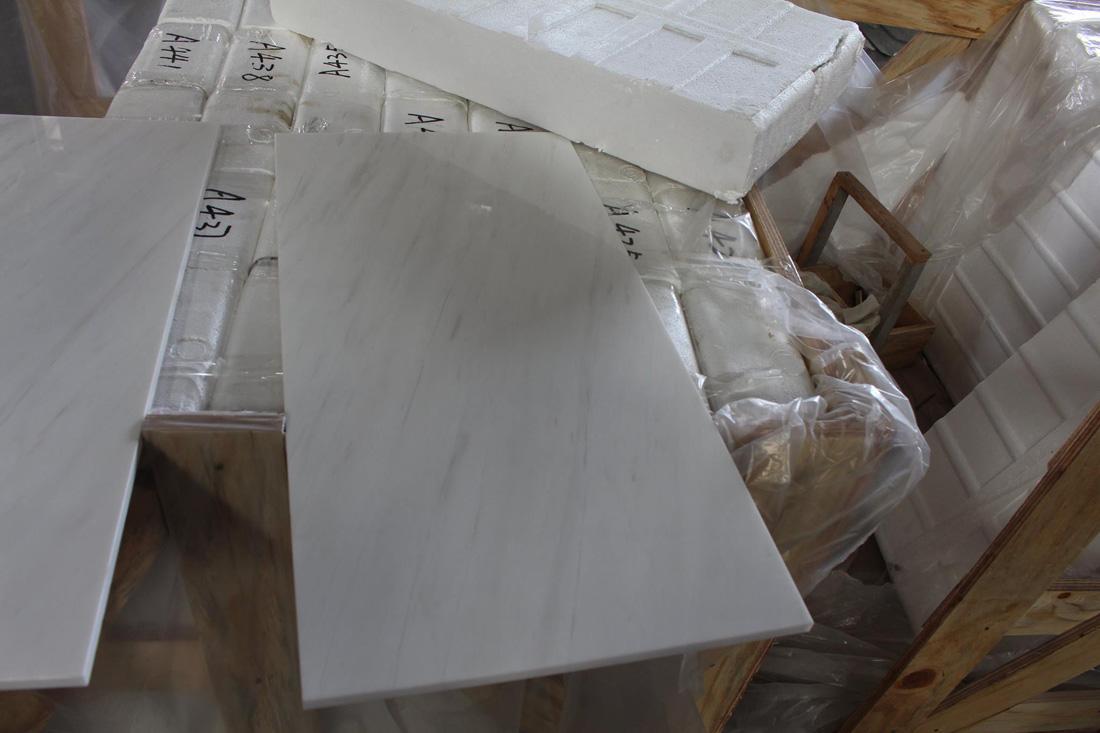 Bianco Dolomiti White Marble Polished Tiles