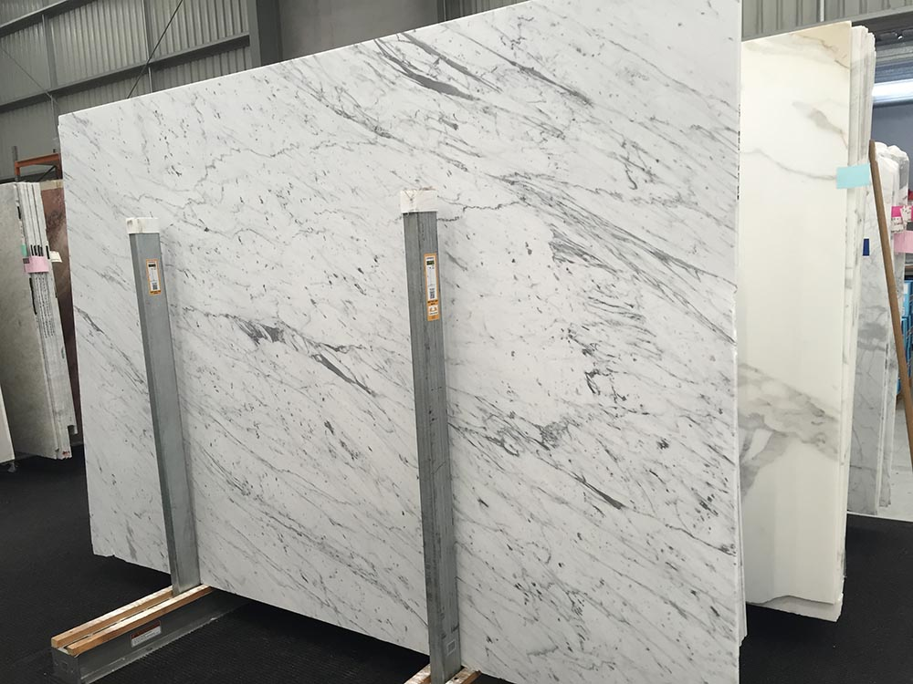 Bianco Gioia Slab White Polished Marble with Top Quality